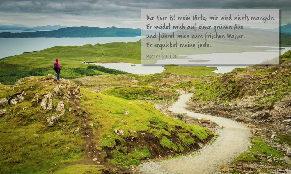 Psalm 23 für Website